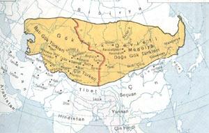 بخش شرقی و غربی امپراتوری