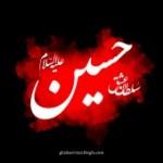 حضرت محمد(ص) : حسین پاره تن من است.