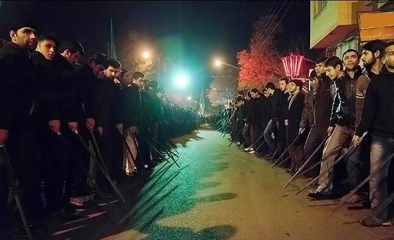 فیلم | «شاخسِی» ؛ عزاداری ترکی مردم تبریز