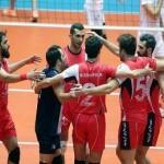 پیروزی تیم والیبال شهرداری ارومیه مقابل آرمان اردکان یزد