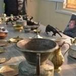 کشف 896 قطعه اشیای تاریخی هزاره قبل از میلاد در تکاب