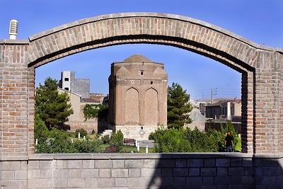 گنبد سرخ مراغه – آذربایجان شرقی