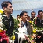 استقبال مردم و مسئولان شهرستان ميانه از مدال آوران تكواندوي آسيا