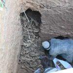 جمع آوری بقایای اجساد گور کشف شده در تبریز