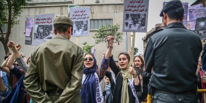 کمپین « لغو مجوز تظاهرات ارامنه علیه تورکان» + لینک