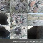 داستان تخریب و غارت ثروت ملی این بار در قریه قره بلاغ شهرستان نقده