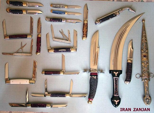 صنعت چاقو سازی زنجان