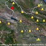 زلزله ای شدید جمهوری آذربایجان و شمال استان اردبیل را لرزاند