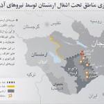 آزادسازى مناطق تحت اشغال ارمنستان توسط نیروهاى آذربایجان