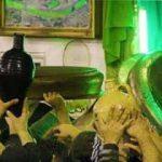 مراسم طشت گذاری و اعلان عزای امام حسین (ع)