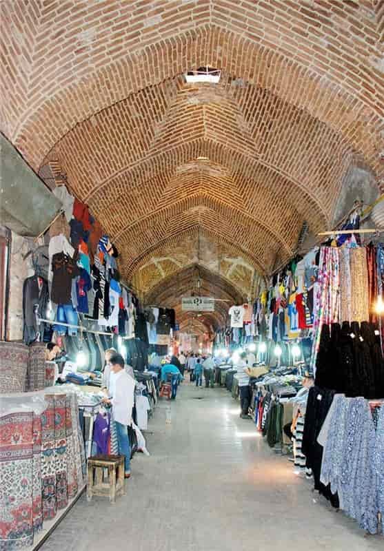 بازار تاریخی شهر خوی یادگاری از دوران صفویه