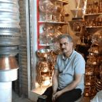 چکشهای بیصدا در بازار مسگران تبریز / اصالتی که خاطره شد